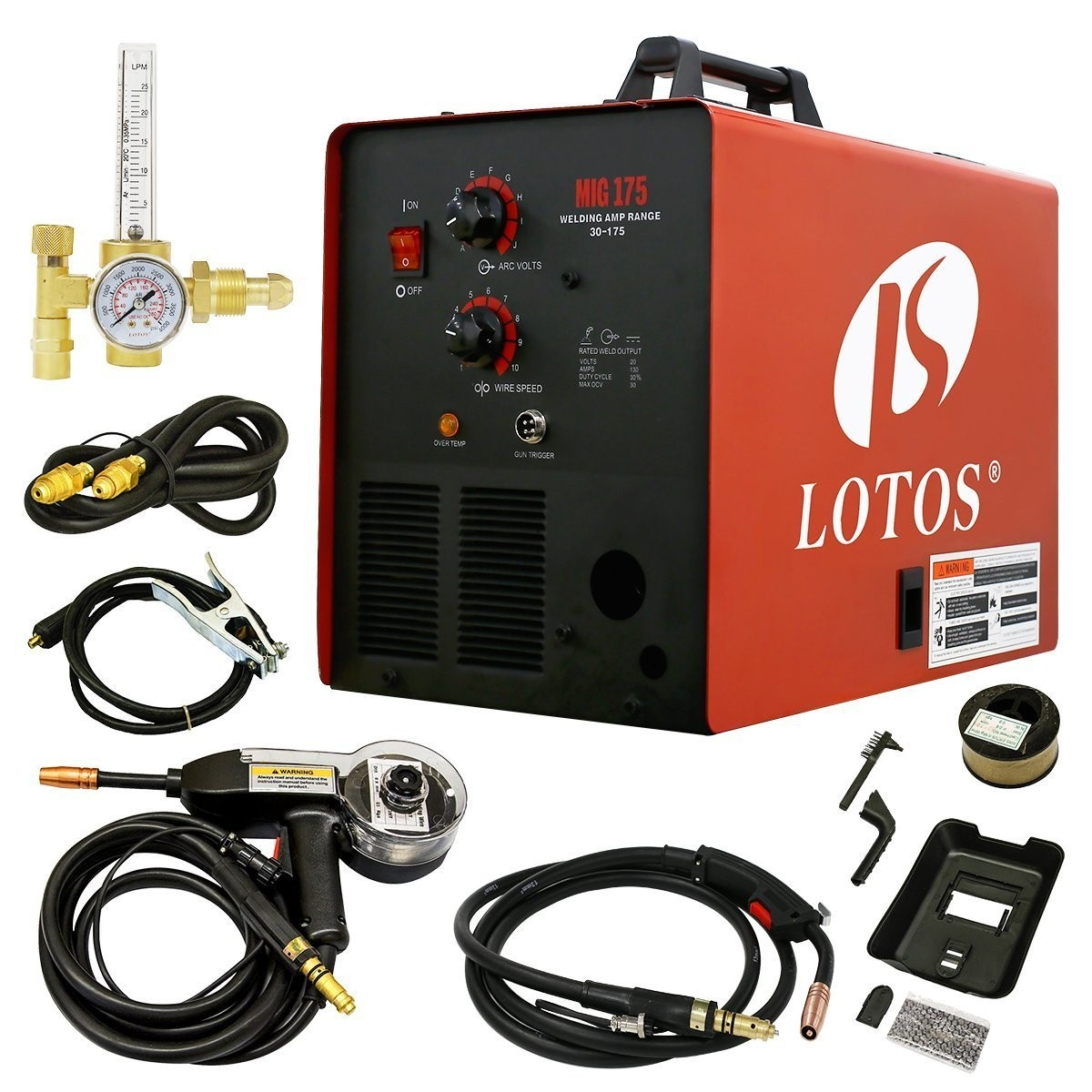 6+ Best MIG Welder for the Money (2019) - Reviews & Buying Guide  Best Images Of Welder Wiring Diagram Wire Volt Range on